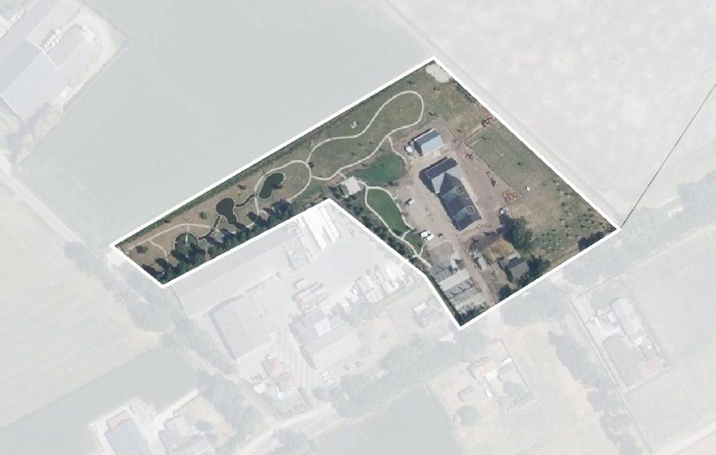 Luchtfoto zorgboerderij Someren