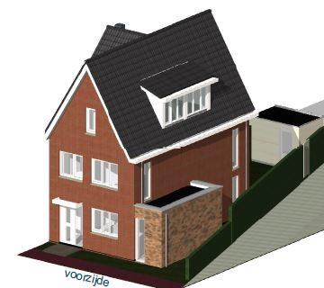 Flex-woningen Westerheul IV te Vinkeveen 3D voorzijde