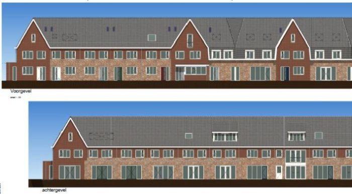Aanzichten deel 2 flex-woningen Westerheul IV te Vinkeveen