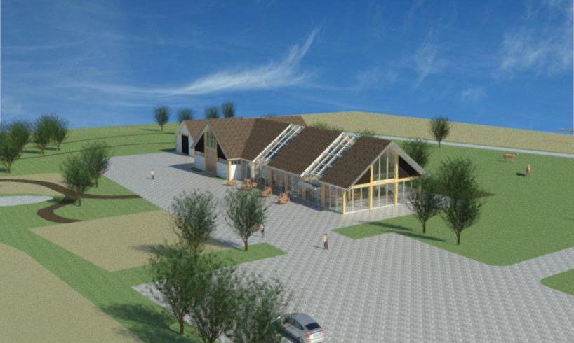 3D zorgboerderij Someren vooraanzicht